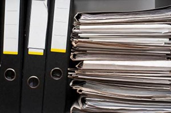 segregatory z dokumentami