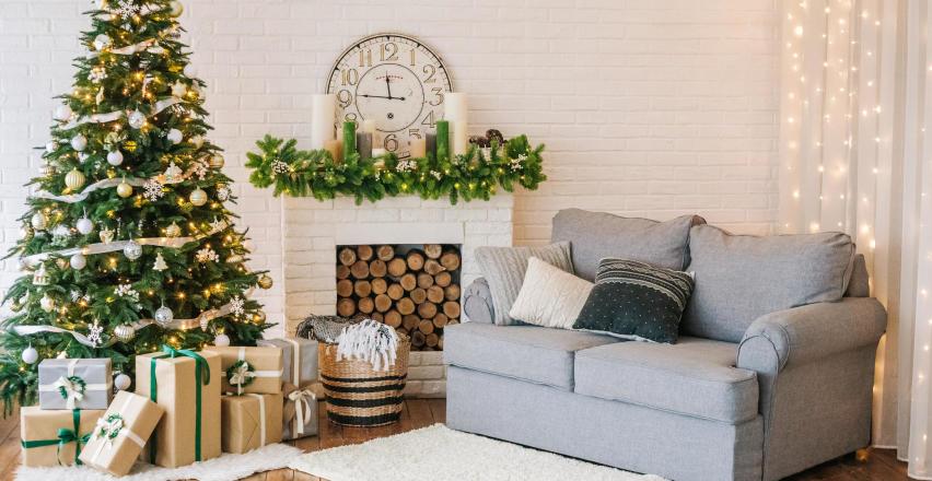 5 pomysłów, jak udekorować mieszkanie na święta