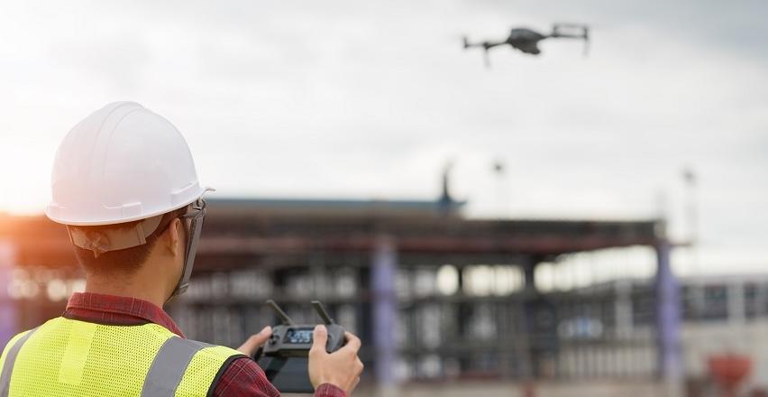 Wykorzystanie dronów w pomiarach geodezyjnych