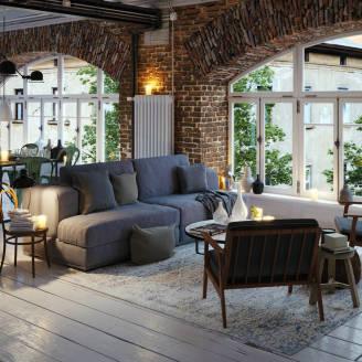Jak urządzić mieszkanie w stylu loft?